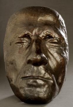 Schmelzer József: Kazinczy Ferenc élőmaszkja, 1816