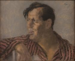 Rippl-Rónai József: Karinthy Frigyes  arcképe, 1925