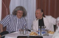 Esterházy Péter és Kertész Imre