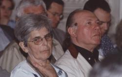 Orbán Júlia és Kertész Imre