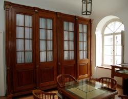 A Heinrich Koch által tervezett levéltári szekrények