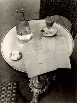 Ady-kézirat, André Kertész felvétele, 1934
