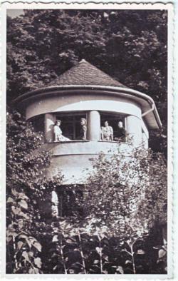A fonyódi Takáts villa 1937-ben