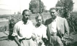 Takáts testverek -  Gyula, Lenke és Emil (Fonyód, 1939)