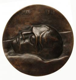 Ferenczy Béni: Halott Ady, 1929