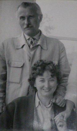 Első feleségével, Szabó Ilonával