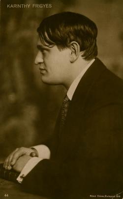 Karinthy Frigyes, Rónai Dénes felvétele, 1918