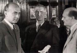 Illyés Gyula, Tersánszky Józsi Jenő és Sőtér István