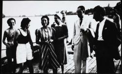 A szentendrei parton (1940. június 30.)