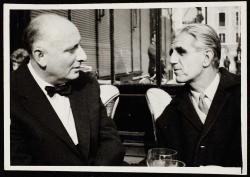 Ottlik Gézával egy párizsi kávéházban (1963)