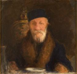 Réti István (1872–1945): Jókai ebédel