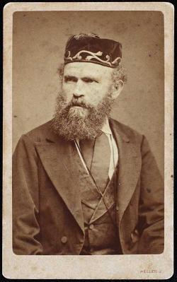 Vas István nagyapja, Weisz Dávid rabbi