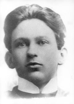 Áprily Lajos érettségi-fotója, 1905