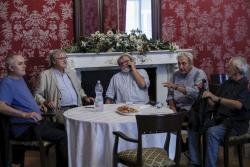 Darvasi László, Závada Pál, Parti Nagy Lajos, Kovács András Ferenc és Bodor Ádám