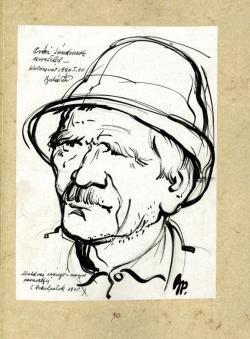 Balázs Péter grafikája