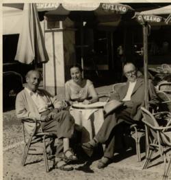 Déry, Cs. Szabó - Olaszország