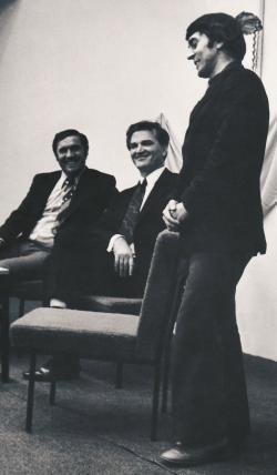 Író-olvasó találkozó Tamás Menyhért íróval és Czine Mihály irodalomtörténésszel (1985)