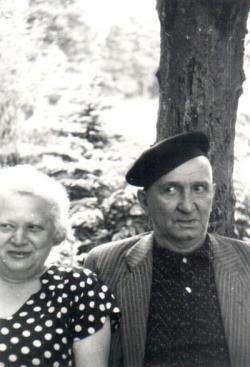 Tersánszky Józsi Jenő és Szántó Margit
