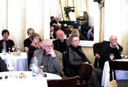 DIA-tagok: Rakovszky Zsuzsa, Szilágyi István, Krasznahorkai László, Jókai Anna, Kányádi Sándor