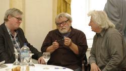 Závada Pál, Parti Nagy Lajos és Esterházy Péter