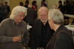 Esterházy Péter, Krasznahorkai László és Kovács András Ferenc