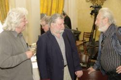 Esterházy Péter, Tarján Tamás és Szakonyi Károly
