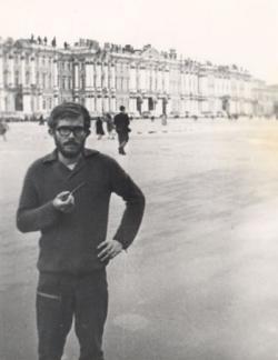 A Leningrádban töltött tanév idején (1971-1972)