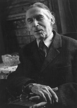 Áprily Lajos időskori portréja, 1966