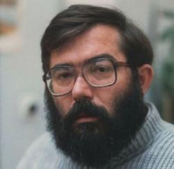 Baka István (fotó: Horváth Dezső, 1980-as évek) )