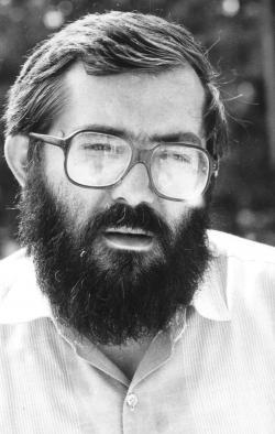 Baka István (fotó: Horváth Dezső, 1988)