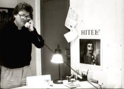 A Hitel szerkesztőségében (1991)