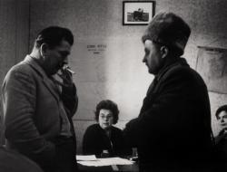 A kabai Lenin MTSZ irodájában (1963)