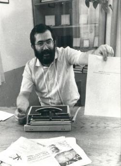 A Kincskereső szerkesztőségében (1980 körül)