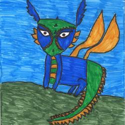 A legédesebb sárkány Nagy Daniella