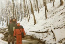 A téli Mecsekben