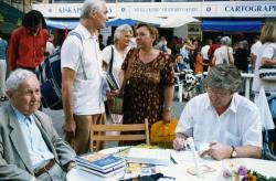 Az Ünnepi Könyhéten Püski Sándor társaságában (2003)