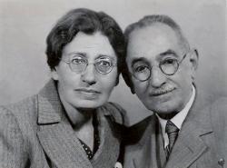 Kántor Péter anyai nagyanyja, Büchler Margit és nagyapja, Róth Zsigmond