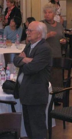 Bodnár György a DIA tizedik születésnapján (DIA, 2008)