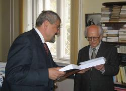 Bodnár György Párbeszéd az idővel című könyvének ünnepélyes átadása (MTA ITI, 2008. január 16.)