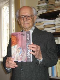 Bodnár György Párbeszéd az idővel című könyvének ünnepélyes átadásán (MTA ITI, 2008. január 16.)