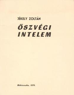 Őszvégi intelem (1979)