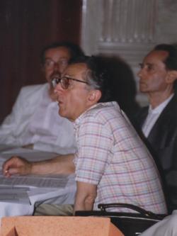 Csűrös Miklós, Lator László és Rába György (1999, DIA)