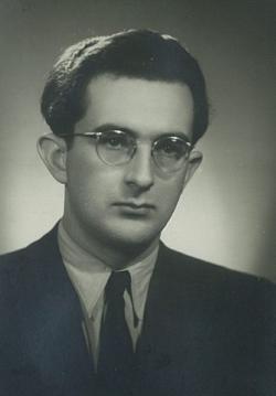 Lator László körmendi tanárkodása idején, 1953