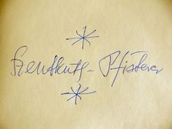 Szentkuthy Miklós aláírása