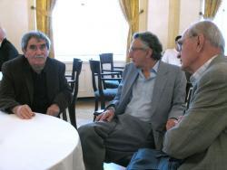 Juhász Ferenc, Lator László és Farkas László (2007, DIA)