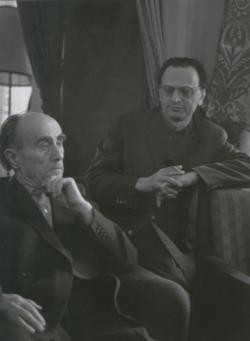 Kassák Lajos és Lengyel Balázs