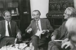 Lengyel Balázs, Mándy Iván és Ottlik Géza, 1984