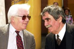 Sütő András és Juhász Ferenc, 2001 könyvhét, Debrecen