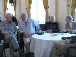 Dobos László, Szakonyi Károly, Ágh István és Marsall László (2007, DIA)