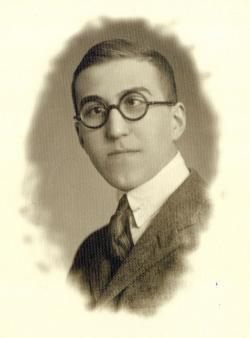 Szentkuthy Miklós érettségi tablóképe, 1926